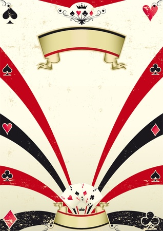 games of chance: An old poker background for you.