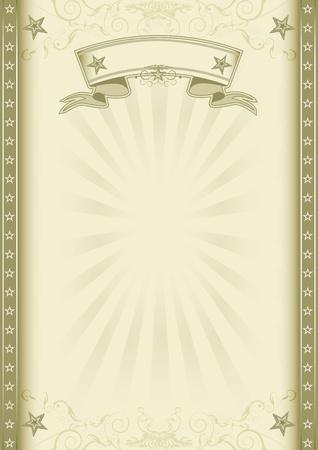 fondo de circo: Un fondo de la vendimia con los rayos de sol para un cartel