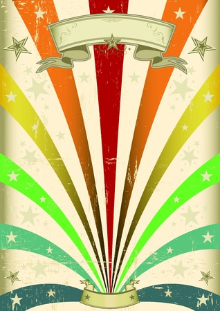 A vintage carnival poster for your parade Vector