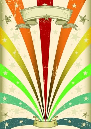 fondo de circo: Un cartel del carnaval de cosecha para el desfile