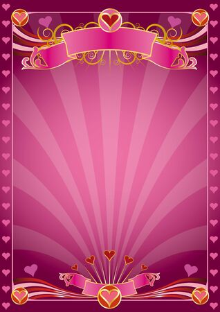 A Valentine poster Vector