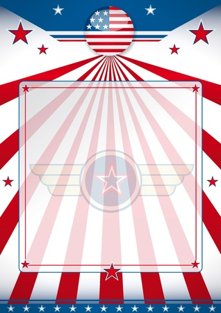 patriotic america: A background for a poster of the United States