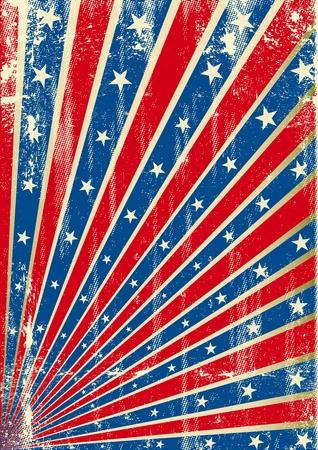 가면 남부 동맹 국기와 함께 배경 일러스트