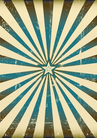 a vintage sunbeam background for a poster Vector