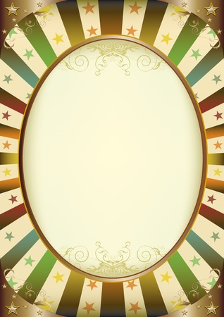 A vintage frame with a copy space for a picture or your message Vector