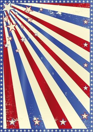publicity: Un cartel con la bandera tricolor rayos de sol