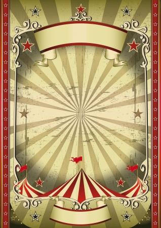 cirkusz: A cirkusz hátteret a sötét show-