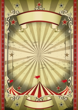 carnaval: Een circus achtergrond voor je donkere voorstelling