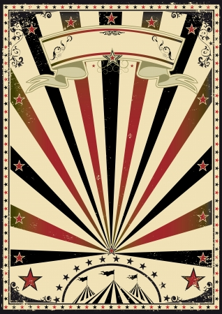 A retro circus poster for your advertising Stock Vector - 13774898