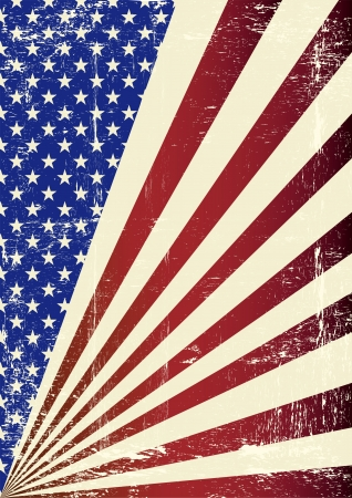 american flag background: A patriotic background for you