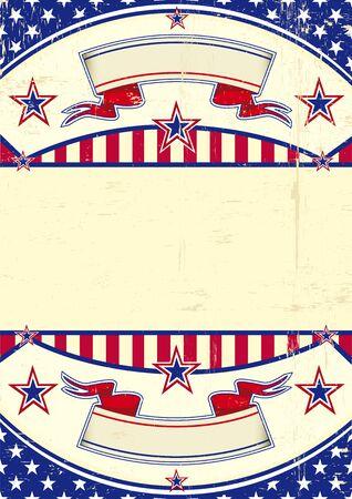 patriotic background: A patriotic background for you Illustration