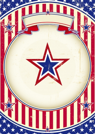 A patriotic background for you  Vector