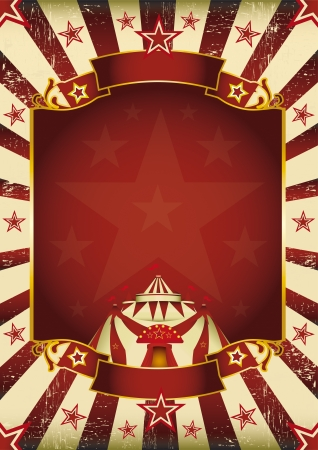 A new background  vintage, textured  on circus theme  Enjoy   Illustration