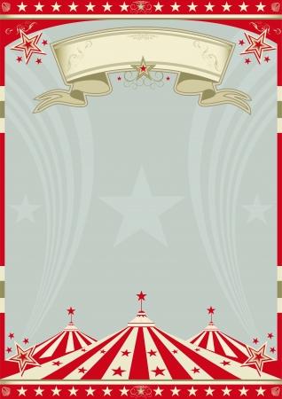 circense: Un fondo retro circo para un cartel