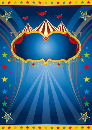 carnival tent: A colored background for a party