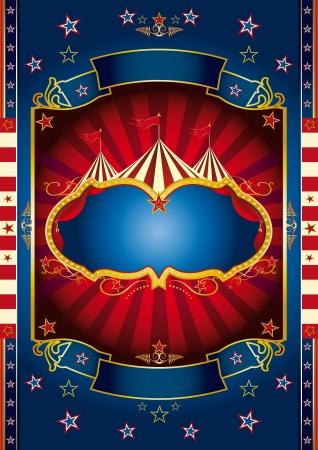 circense: Un fondo nuevo circo para su show
