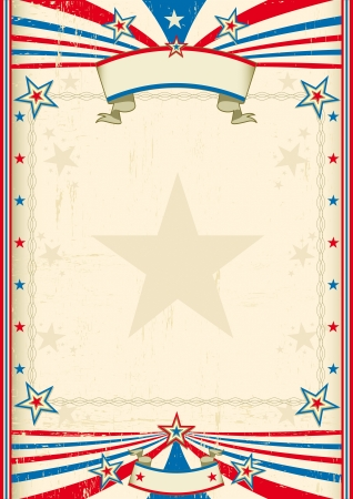 circus background: A tricolor background with a large frame for you