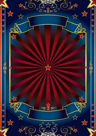 circus poster: Fantastic background