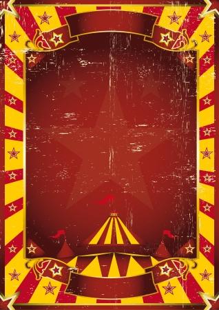 entertainment tent: Un fondo amarillo de circo con una textura