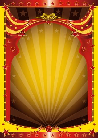 A background for your circus event Vector