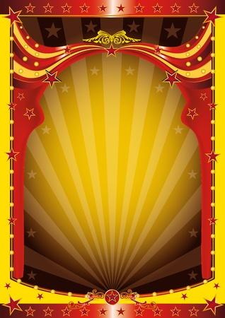 fondo de circo: Un fondo para su evento circo Vectores