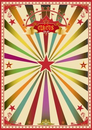 cirkusz: Egy csodálatos cirkuszi plakát egy nagy party