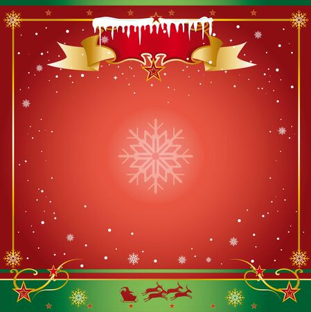 A xmas card for you Stock Vector - 16863880