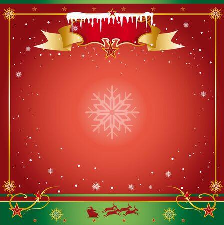 A xmas card for you Stock Vector - 16863880