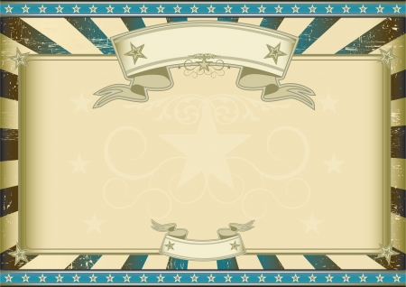 A vintage horizontal poster with a large copy space for you.  Perfect size for a screen. Stock Vector - 16922136