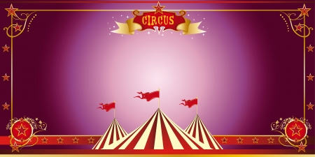 An invitation card for your circus company Stock Vector - 17243697