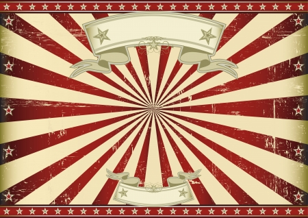 circus background: A vintage horizontal poster with a blue sunbeam for you  Perfect size for a screen