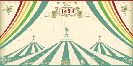 big top tent: An invitation card for your circus company
