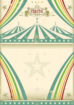 Vintage background circo