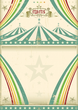 paper arts and crafts: Vintage circus background