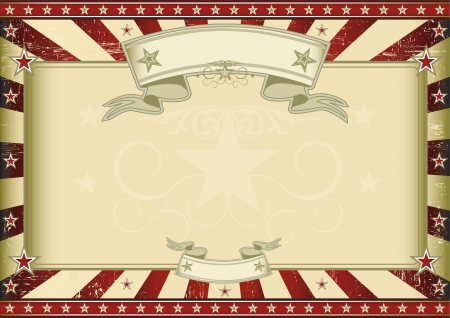 A vintage horizontal poster with a large copy space for you  Perfect size for a screen Stock Vector - 17428890