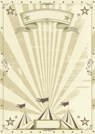 Circus kraft background