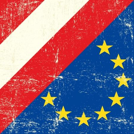 austrian flag: flag of european union members