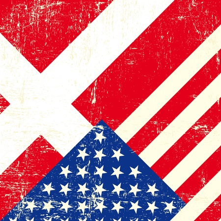 tour operator: this flag represents the relationship  between Denmark and the USA