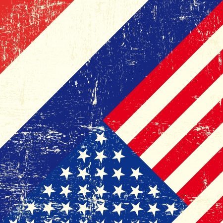 this flag represents the relationship  between netherlands and the USA Vector
