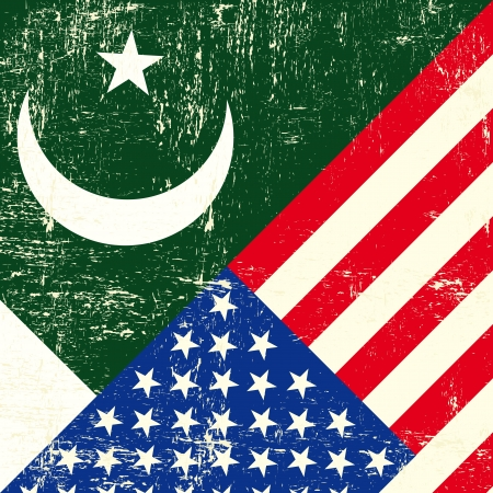 pakistani: this flag represents the relationship  between the pakistan and the USA