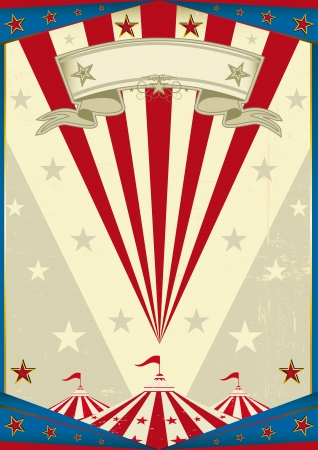 A circus vintage poster for your advertising Stock Vector - 19783880