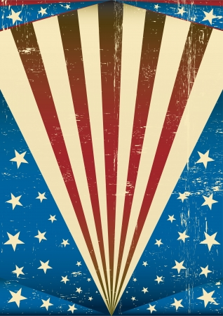 An american vintage background for you Vector