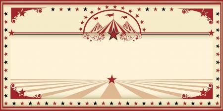 fondo de circo: Una tarjeta de invitaci?n para su compa??a de circo