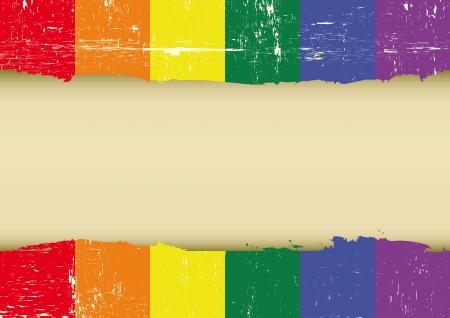 tolerancia: marca con un gran marco para su mensaje Vectores