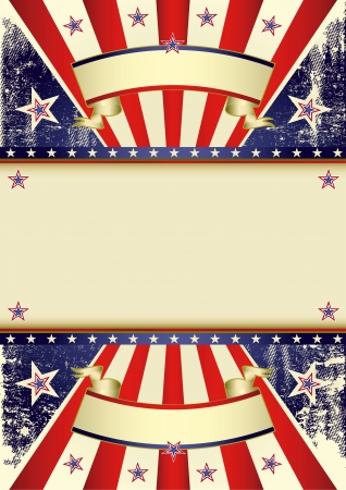 american flag background: A background for your american poster  Illustration