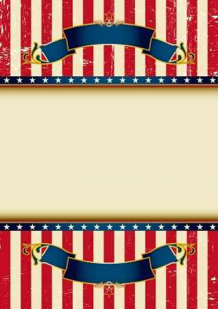 An american background for your advertising  Illustration