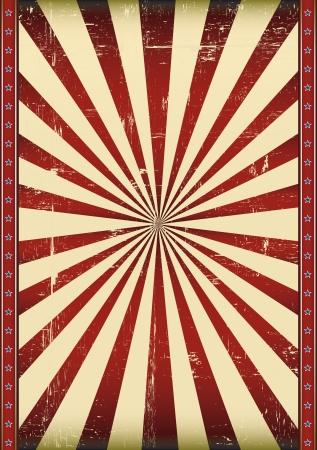 circense: Un cartel como un fondo de la bandera del grunge Vectores