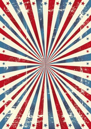 Ein Grunge-Hintergrund für ein Plakat Vektorgrafik