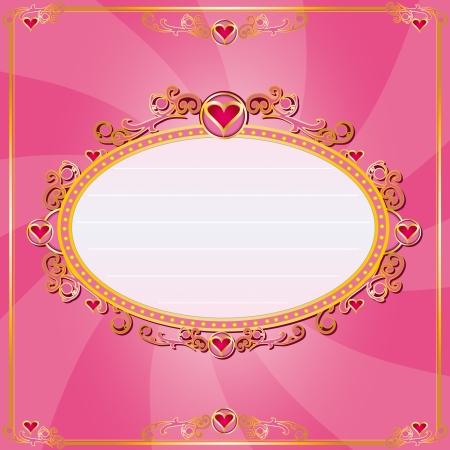 A Valentine s card for you Stock Vector - 20007892