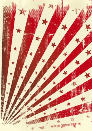 A vintage dirty background for a poster Vector